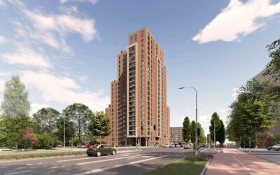 Op initiatie van Valkering & Co. heeft Rijsterborgh Vastgoed woontoren Bankrasstaete herontwikkeld